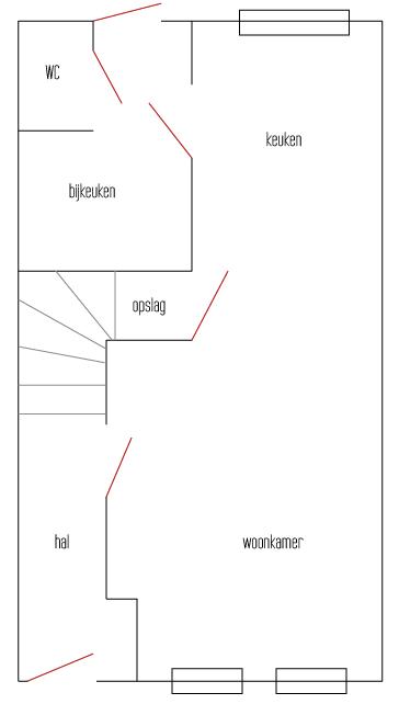 BLOG - plattegrond begane grond
